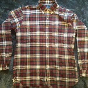 Ralph Lauren Long Sleeve Plaid Shirt